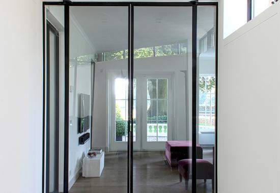MHB SL30 Fire resistant steel glazed doors and screens systems 4