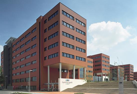MHB Aluminium facade, windows and doors Stainless steel entrance halls Cisco Amsterdam 01